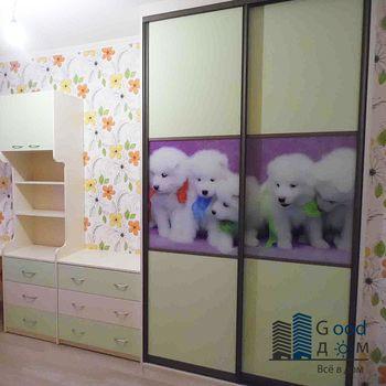 Раздвижной шкаф-купе в детскую