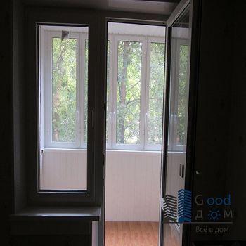 Отделка балкона с остеклением Provedal