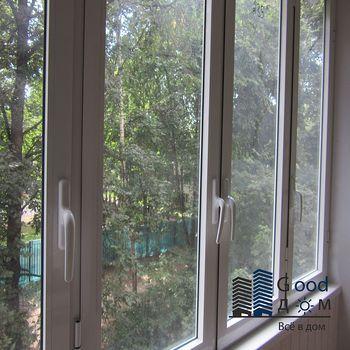 Холодное остекление балкона системой Provedal