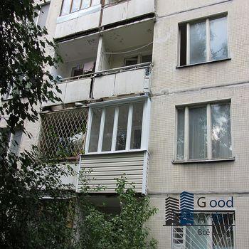 Холодное остекление Provedal и отделка балкона