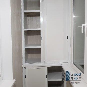раздвижной шкаф из алюминия