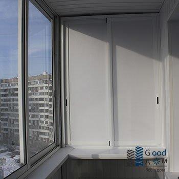 шкаф на балкон из пластика