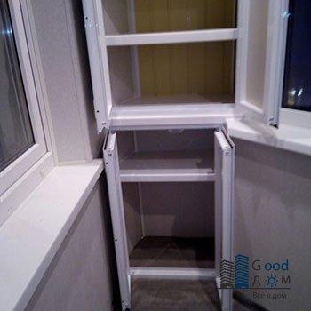 металлопластик распашной шкаф