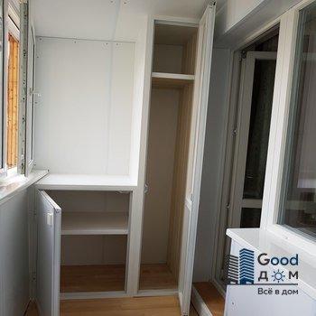 пластиковый шкаф на балкон фото