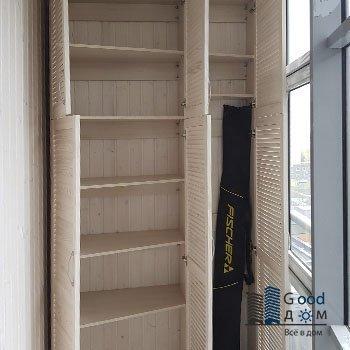 качественный двухстворчатый шкаф