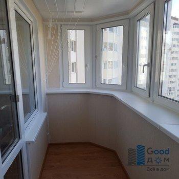 Отделка балкона в доме П-3