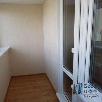 Отделка балкона в доме П-3 под ключ