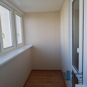 Отделка балкона П-3 фото