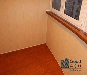 угол малого балкона мдф
