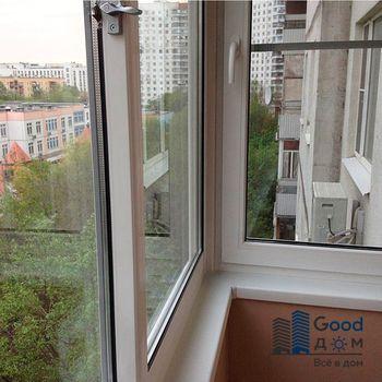 Остекление балконов раздвижное