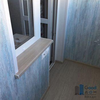 Балкон ПВХ в доме серии II-49