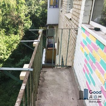 Ремонт старого балкона