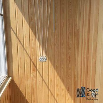 Фото балкона с вагонкой класса Экстра