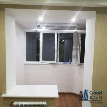 Объединение балкона с квартирой