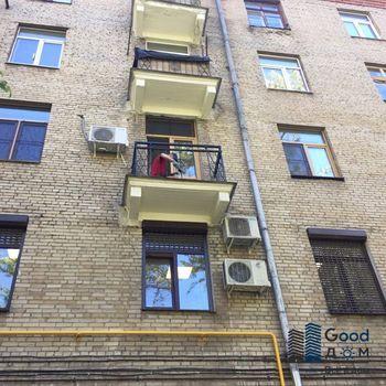 Ламинированное остекление балкона