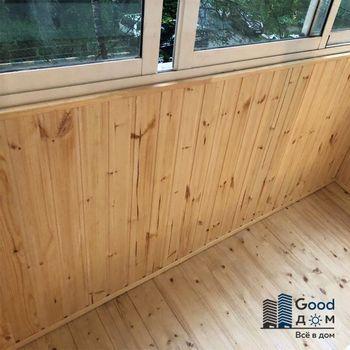 Ремонт балкона в панельном доме