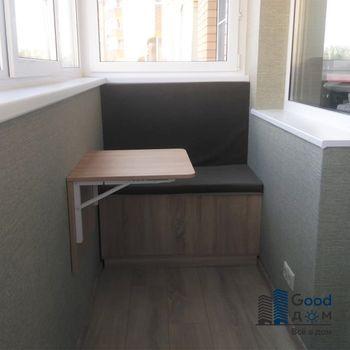 Откидной столик на балконе или лоджии
