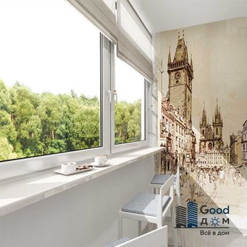 Барная стойка на балконе фото