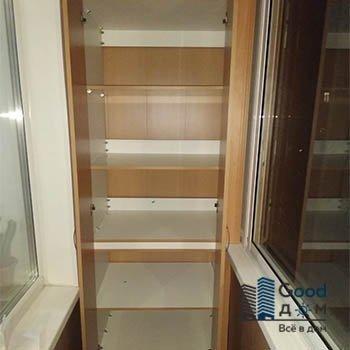 коричневый лдсп шкаф
