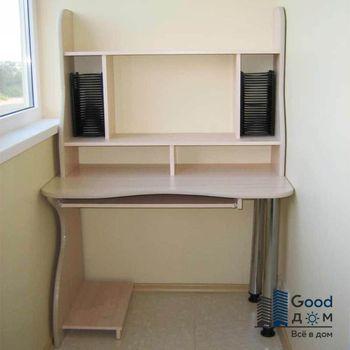 Письменный стол на лоджии фото