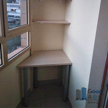 Угловой ЛДСП стол