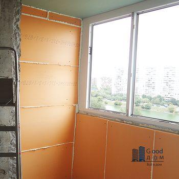 Гидроизоляция с утеплением балконов