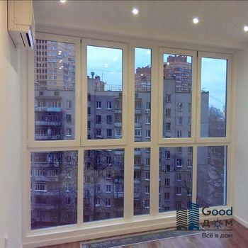 Панорамные балконы фото