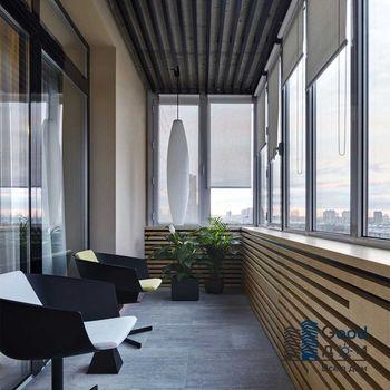 Капитальный ремонт большого балкона