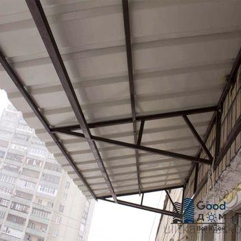 Монтаж крыши на последнем этаже