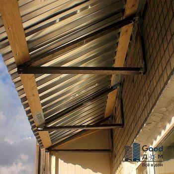 Ремонт крыши изнутри