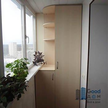 шкафчики на маленький балкон
