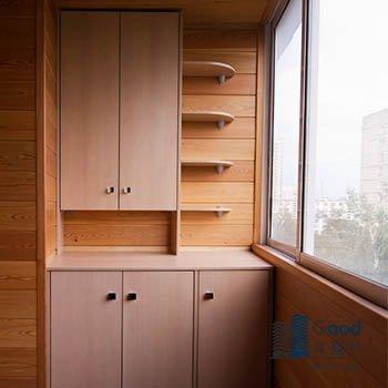 шкаф индивидуально на балкон