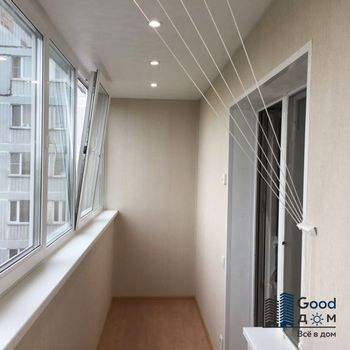 Ремонт балкона с утеплением