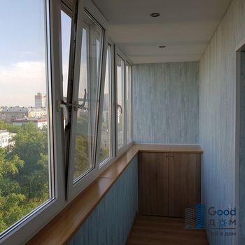 Ремонт и утепление 6 метрового балкона