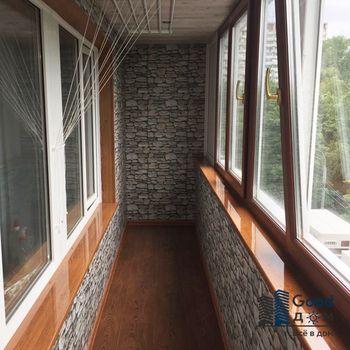 Полное утепление балкона