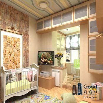 Дизайн детской с балконом фото