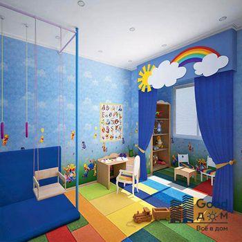 Детская комната с утепленной лоджией
