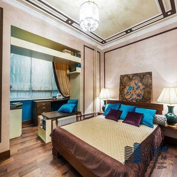 Объединение спальни и балкона фото