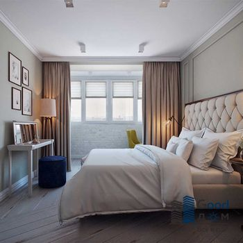 Спальня совмещенная с лоджией