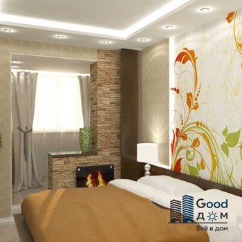 Балкон совмещенный со спальней