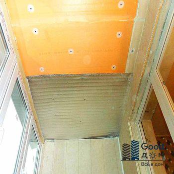 Пеноплекс на потолок балкона