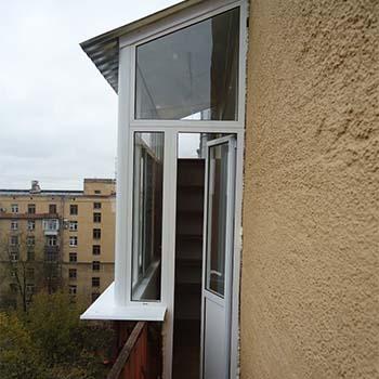 Остекление Provedal в сталинском доме