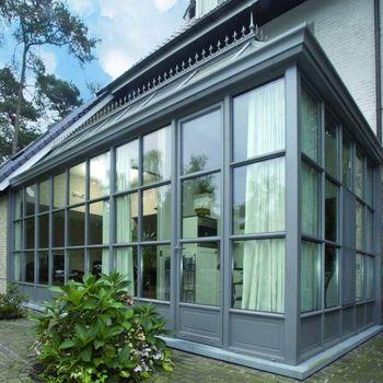 Алюминиевые окна в коттедж