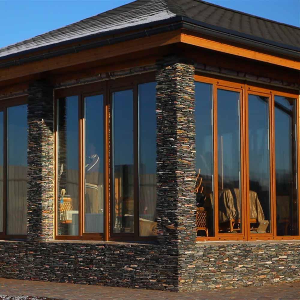 Витражные окна в частном доме фото