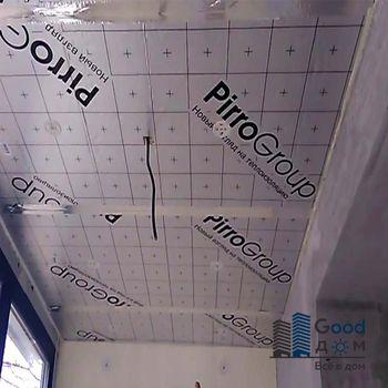 Утепление потолка PIR - плитами