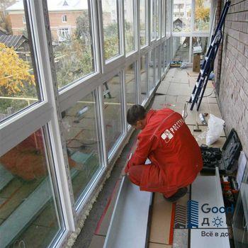 Запенивание окна пеной