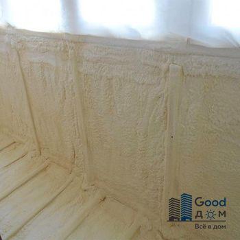 Утепление стен балкона пенополиуретаном