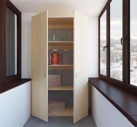 Двухстворчатый шкаф