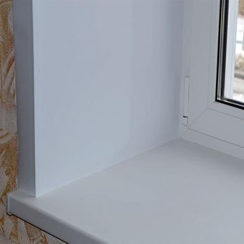 Утеплить подоконник пластикового окна