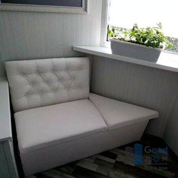 Угловые диванчики на балкон
